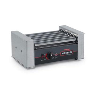 Nemco 8010SX-220 10 Hot Dog Roller Grill - Flat Top, 220v