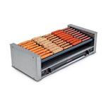 Nemco 8027-SLT 27 Hot Dog Roller Grill - Slanted Top, 120v