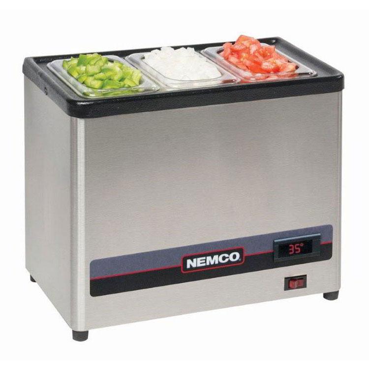 Nemco 9020-1 Dipper Style Condiment Dispenser w/ (1) Third-Size Pan, Digital, 120v