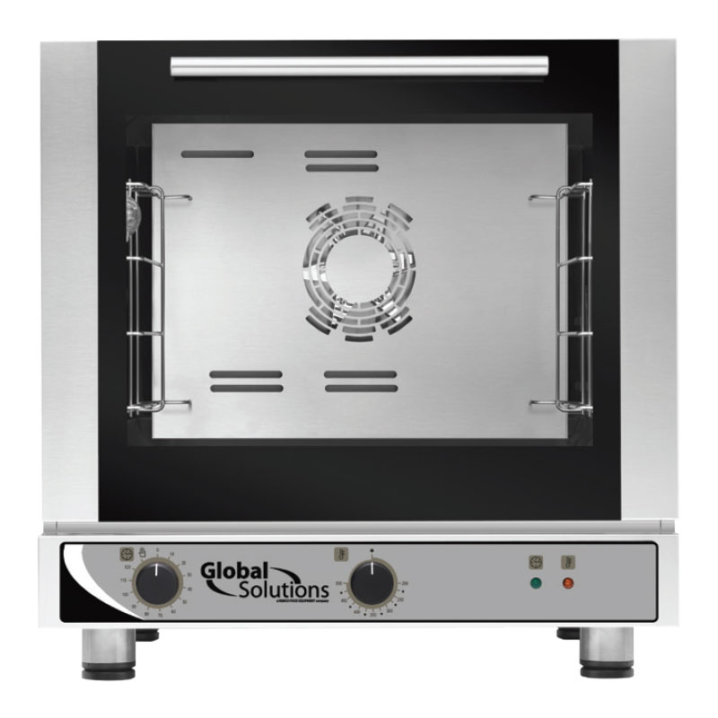 Nemco GS1110-28 Global Solutions Half Size Electric Convection Oven - 208-240v/1ph