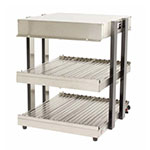 "Nemco GS1300-16-S Global Solutions 18"" Self-Service Countertop Heated Display Shelf - (2) Shelves, 120v"