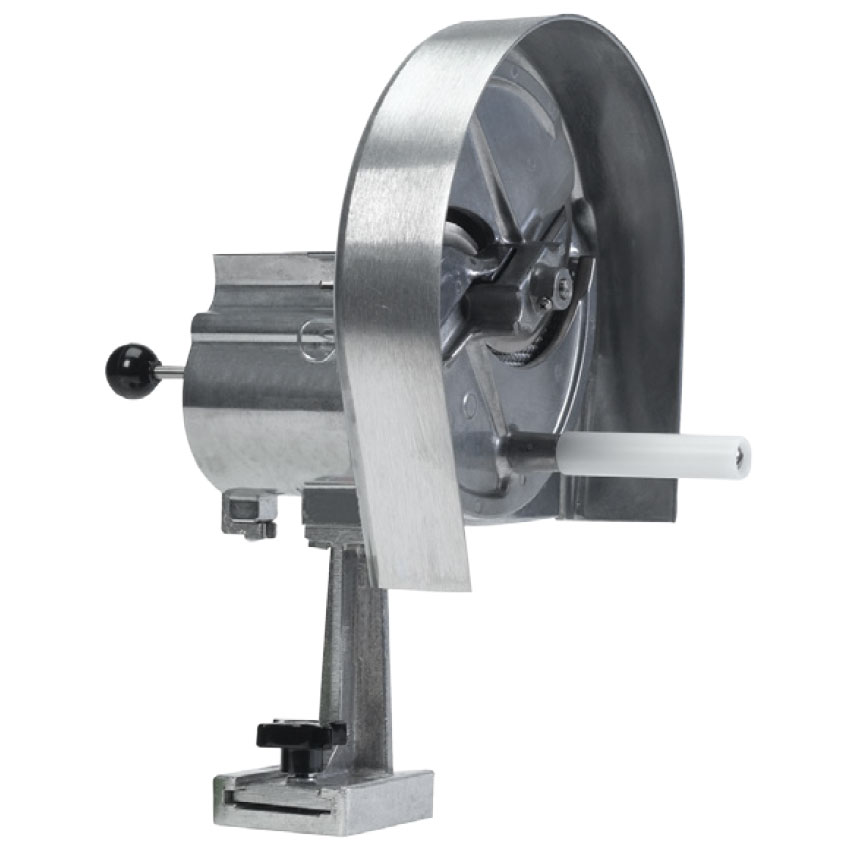 "Nemco GS4400 Global Solutions Rotary Slicer w/ 1/8"" to 1/2"" Slice, Aluminum"