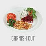 Nemco 55050AN-G Manual Fine Cut Garnish Cutter w/ Preset Drive Depth & Easy Action Screw Drive