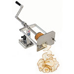 Nemco 55050AN-WR Manual Wavy Ribbon Fry Cutter w/ Preset Drive Depth & Easy Action Screw Drive