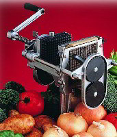 Nemco 55100E-2 Easy Dicer, 1/4 in x 1/4 in x 1/8 in, Two-Way Vegetable Cutter