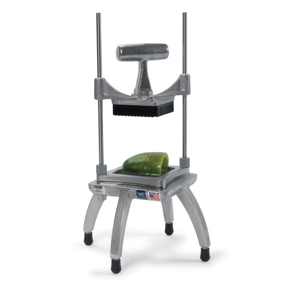 """Nemco 56500-4 Chopper II w/ 4.25"""" Cutting Area, 1"""" Square Cut & Weighted Handle, Stainless"""