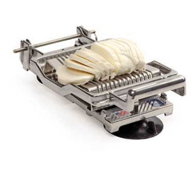 Nemco 55300A-516D Table Top Mozzarella Slicer w/ .31-in Cutting Arm & Stainless Wires, Cast Aluminum