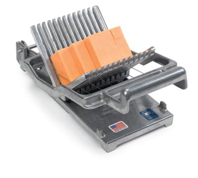 "Nemco 55300A-1 Cheese Cutter w/ .38"" Slicing Arm, Stainless Cutting Wires, Steel Construction"