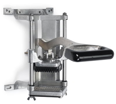 "Nemco 55450-2 Food Cutter w/ .38"" Cut, Short Throw Handle & Wall Or Countertop Mount"