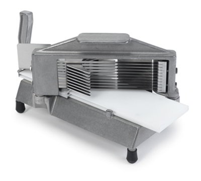 "Nemco 55600-7 Tomato Slicer w/ .22"" Cut, Razor Sharp Stainless Blades & Vertical Handle"