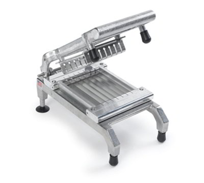 Nemco 55975-2 Chicken Slicer w/ .25-in Cut, Unsharpened Blades, Rubber Bumpers On Pusher Block