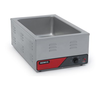 "Nemco 6055A-CW Countertop Cooker Warmer 12x20"" Pan Capacity Infinite Control Thermostat 120/1V"