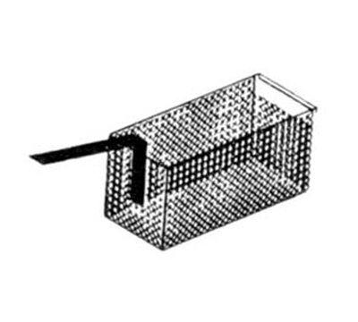 Nemco 67016 Half Size Fryer Basket, Nickle Plated