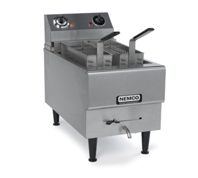Nemco 6750-240 Countertop Pasta Cooker Boiling Unit - Single Tank, 2.5-gal Capacity, 240v