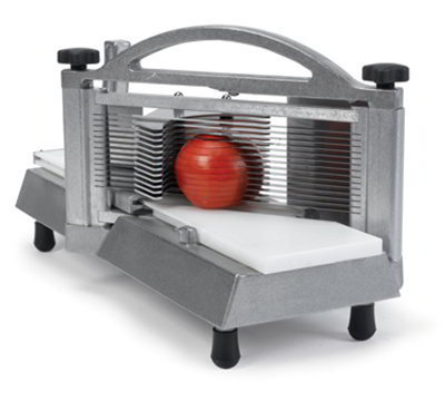 Nemco 56600-3 Tomato Slicer w/ .38-in Compact Slice, Razor Sharp Blades & Ergonomic Handle