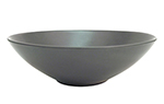 "CAC 666-39-BLK 9"" Japanese Style Salad Bowl - Ceramic, Black"