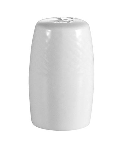 "Cac International BSTTP 15-oz Boston Teapot - 4x4x3-1/2"" Embossed Porcelain, Super White"
