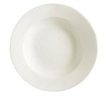 CAC REC-3 American White Rolled Edge Pasta Bowl, REC, Round