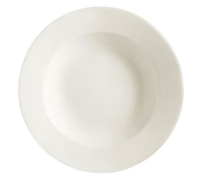 Cac International REC3 10-oz REC Pasta Bowl - Ceramic, American White