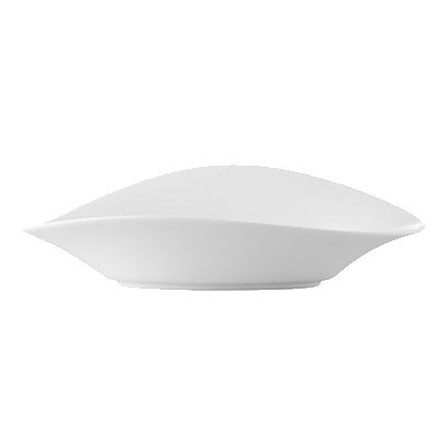 CAC COL-B12 16-oz Wavy Bowl - Porcelain, New Bone White