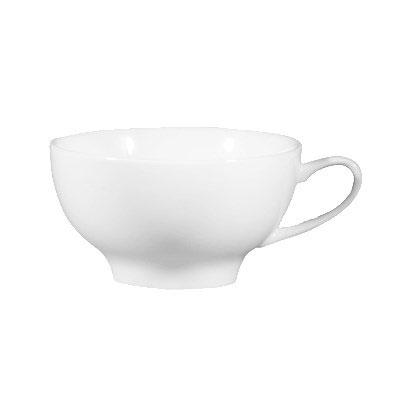 CAC ENG-C1 8-oz English Cup - Porcelain, New Bone White