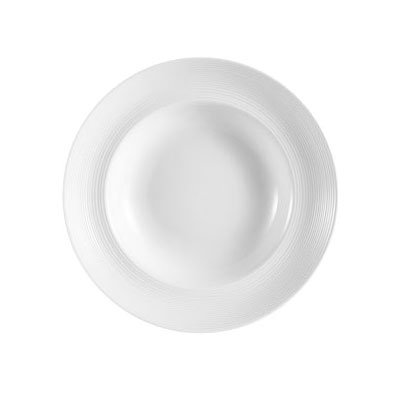 CAC HMY-133 18-oz Harmony Pasta Bowl - Porcelain, Super White