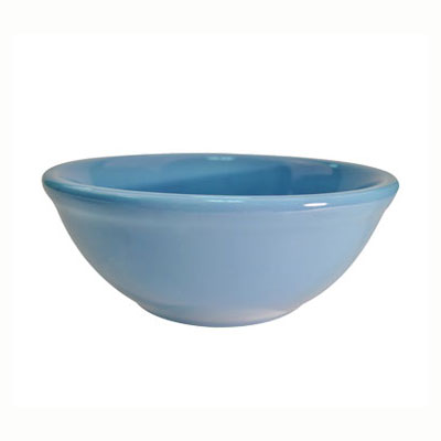 CAC LV-15-LBU Light Blue Rolled Edge Bowl, Las Vegas, Round