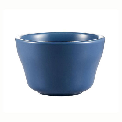 CAC LV-4-LBU Light Blue Rolled Edge Bowl, Las Vegas, Round