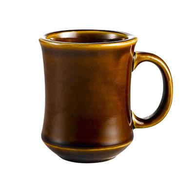 Cac International PM7C 7-oz Provo Mug - Ceramic, Caramel