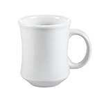 CAC International PM7W 7-oz Provo Mug - Ceramic, American White