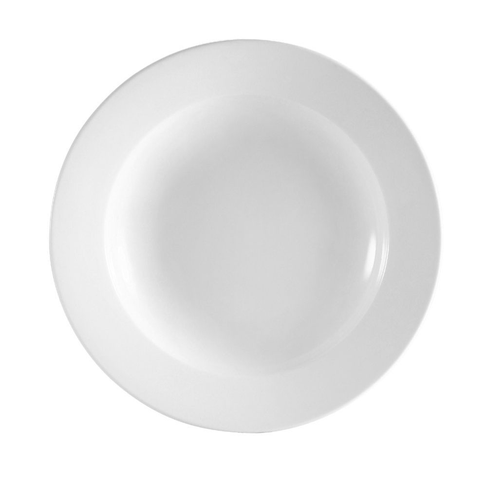 CAC RCN-120F 22-oz Pasta Bowl - Porcelain, Super White