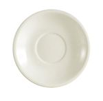 CAC REC-2 American White Rolled Edge Saucer, REC, Round
