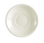 "CAC REC2 6"" REC Coffee Cup Saucer - Ceramic, American White"