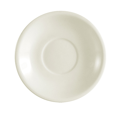 Citizen REC-2 American White Rolled Edge Saucer, REC, Round
