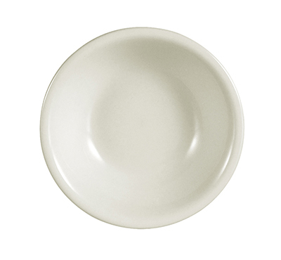 CAC International REC11 5-oz REC Fruit Dish - Ceramic, American White