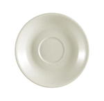 "CAC International REC36 4.5"" REC Demitasse Cup Saucer - Ceramic, American White"