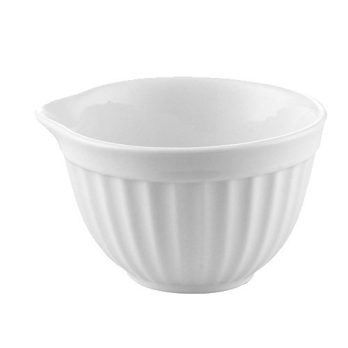 CAC RKF-204 4-oz RKF Ramekin - Porcelain, Super White