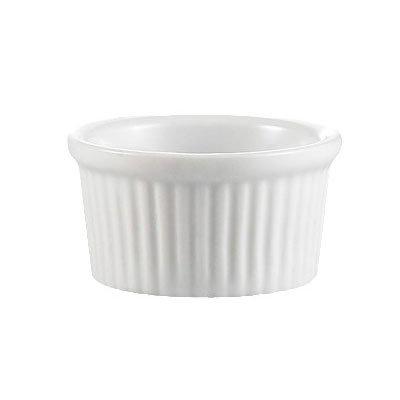 CAC RKF-6 6-oz Ramekin - Porcelain, Super White