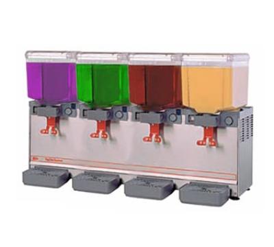 Grindmaster - Cecilware 20/4PE Arctic Deluxe Cold Economy Dispenser, Four 5.4 gal Capacity, Unibody