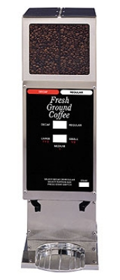 Grindmaster - Cecilware 250-3A Automatic Stainless Coffee Grinder, Three Portion Sizes Per Hopper