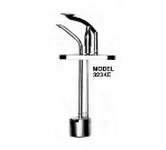 Cecilware 323KC Condiment Dispenser Pump & Cover w/ 2-oz/Stroke Capacity, Chrome Plated