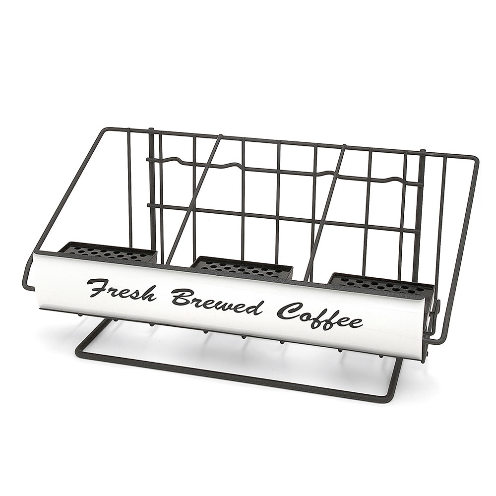 Grindmaster - Cecilware 70571 3-Pot Wide Steel Airpot Rack, Holds (3) 2.2 Liter Airpots