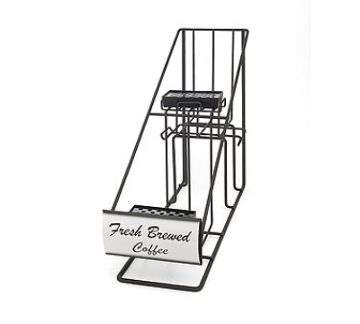 Grindmaster - Cecilware 70620 Steel In-Line Style Airpot Rack, Holds (2) 2.2 Liter