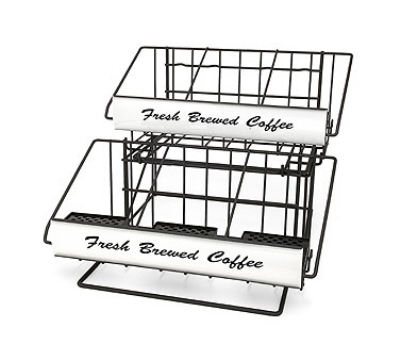Grindmaster - Cecilware 70657 Airpot Rack, (2) 3 Pot Wide Racks, (1) 3 Pot Riser, 1 Condiment Holder