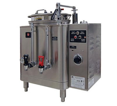 Grindmaster - Cecilware 7416(E) 380480 Single Automatic AMW Coffee Urn, 6 gal. Capacity, 380/480 Volt
