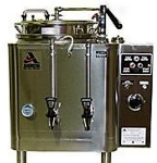 Grindmaster - Cecilware 7776(E) Automatic Twin 6-gal Coffee Urn w/ Pump Style Brew, Single Wall 120/208/1 V