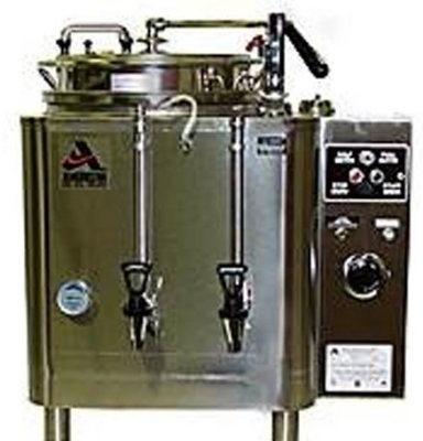 Grindmaster - Cecilware 77110(E) Automatic Single 10-gal Coffee Urn w/ Pump Style Brew, Single Wall 120/208/1 V