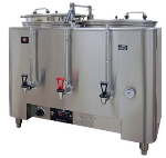 Grindmaster - Cecilware 8106(E) 120208 Twin Automatic Dual Wall AMW Coffee Urn, 6 gal, 120/208 V