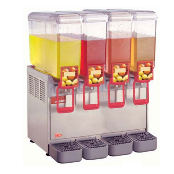 Grindmaster - Cecilware 8/4 Arctic Compact Beverage Dispenser, Four 2.2 gal Capacity