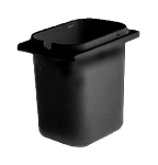 Cecilware A2003 Crushed Fruit Jar, 2-1/2 qt Capacity, Black Propylene